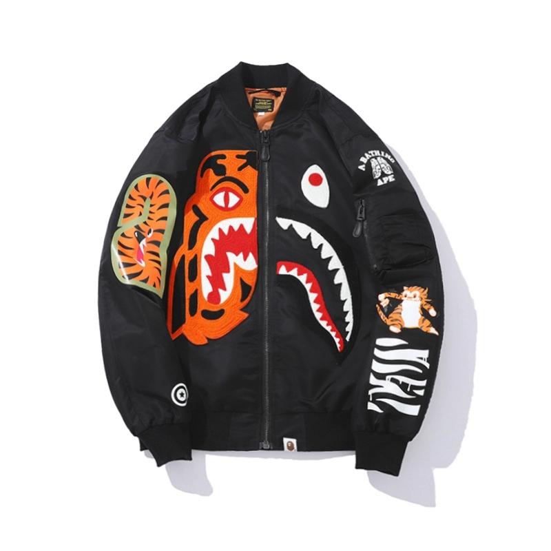 Bape Shark Jacket Windbreaker - Black