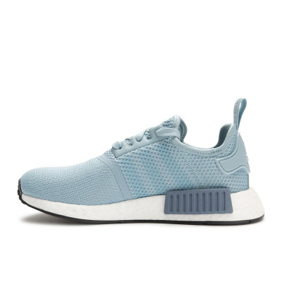 Adidas NMD R1 - Women's Shoes - Ash Grey/Raw Steel