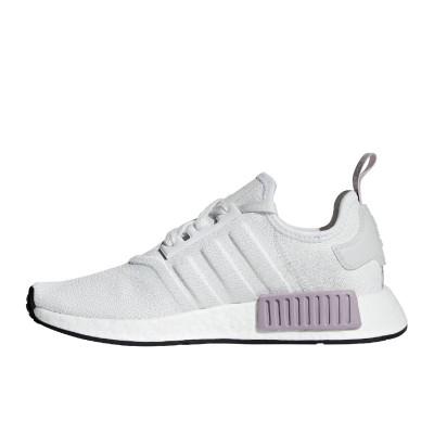 Adidas NMD R1 - Women's Shoes - Crystal White/Orchid Tint