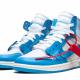 Jordan 1 Off White University Blue