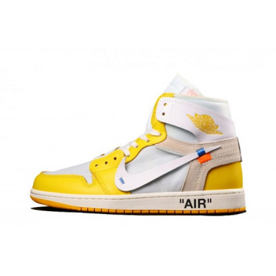 Jordan Canary Yellow